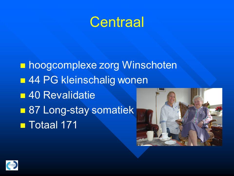 Realisatie 2 locaties Blijhamsterweg: multifunctioneel revalidatie en somatiek centrum Udesweg: kleinschalig wonen hoogcomplexe PG