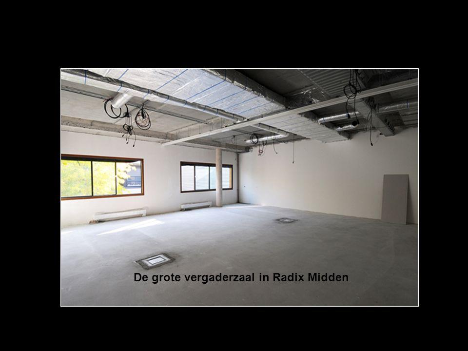 De grote vergaderzaal in Radix Midden
