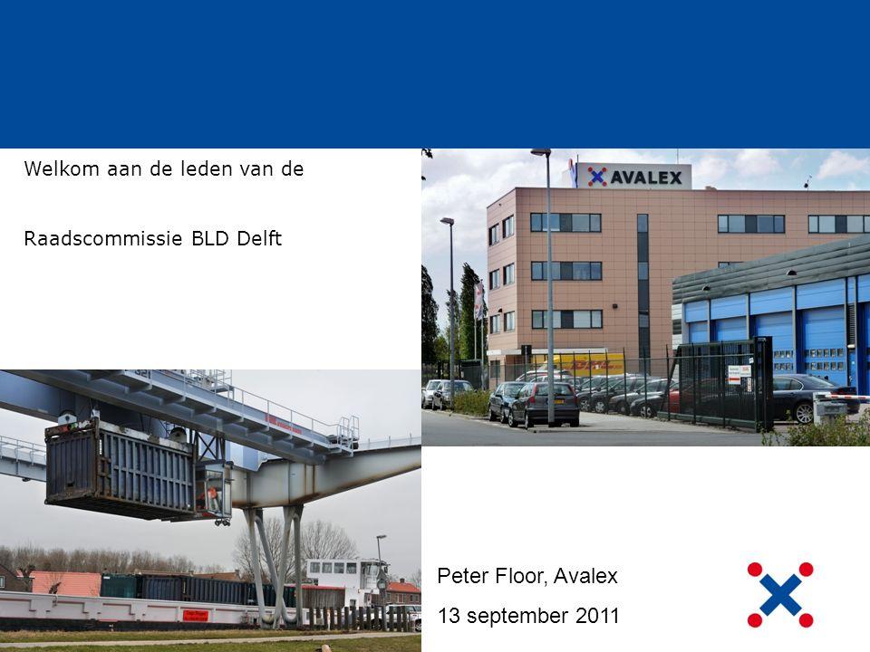 Peter Floor, Avalex 13 september 2011 Welkom aan de leden van de Raadscommissie BLD Delft