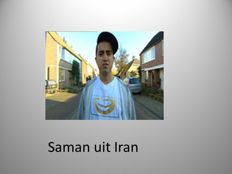 Saman uit Iran