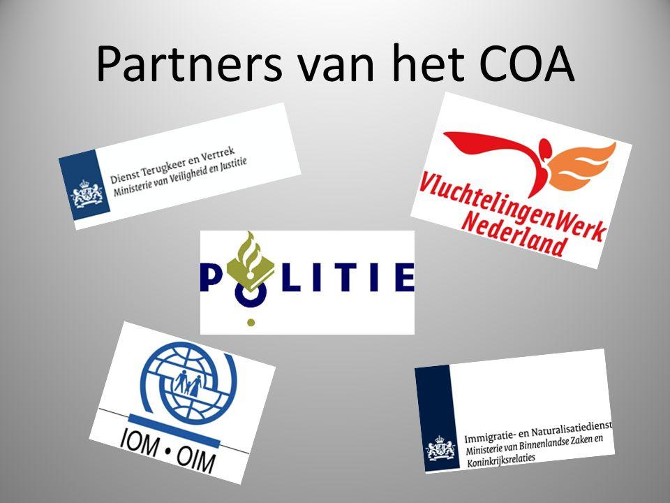 Partners van het COA