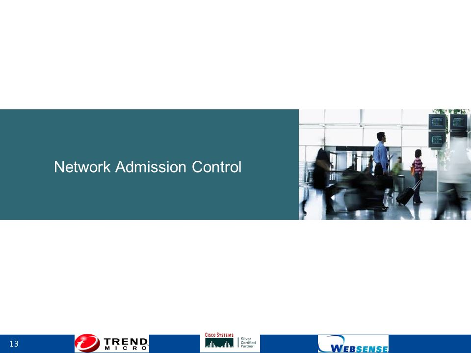 13 Network Admission Control