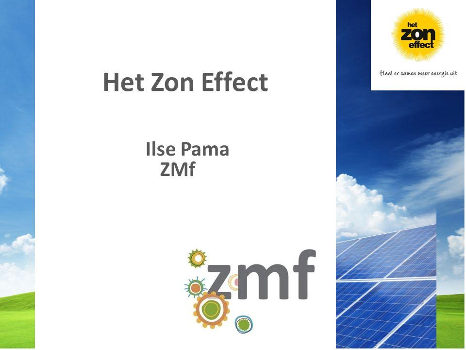 Het is tijd dat we samen meer energie uit de zon gaan halen Het is tijd voor Het Zon Effect Doet u mee?