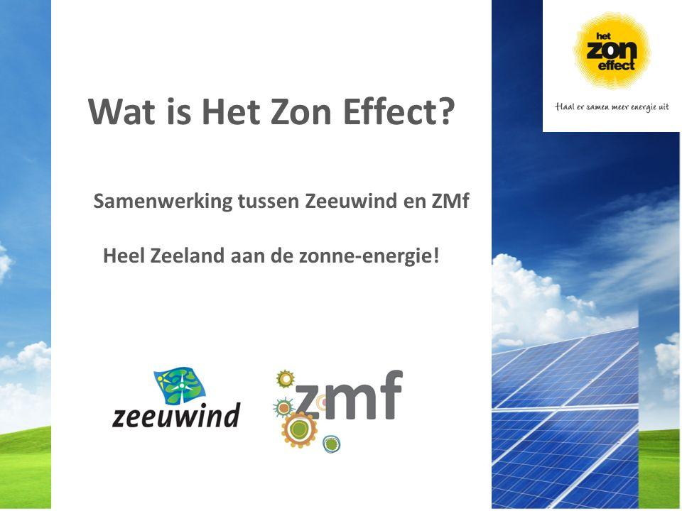 Samenwerking tussen Zeeuwind en ZMf Heel Zeeland aan de zonne-energie! Wat is Het Zon Effect