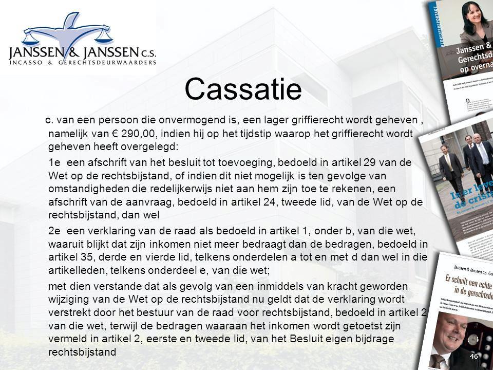 46 Cassatie c.