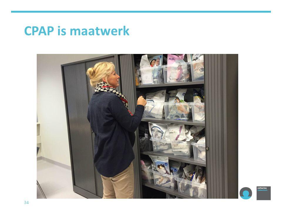 CPAP is maatwerk 34
