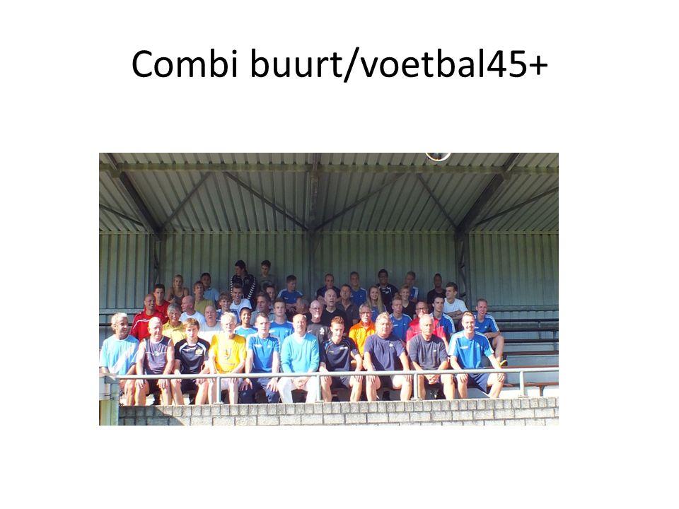 Combi buurt/voetbal45+