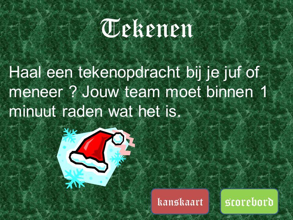Kersthits scorebord kanskaart Hoe heten deze Belgische televisie vrienden die dit kerstnummer zingen