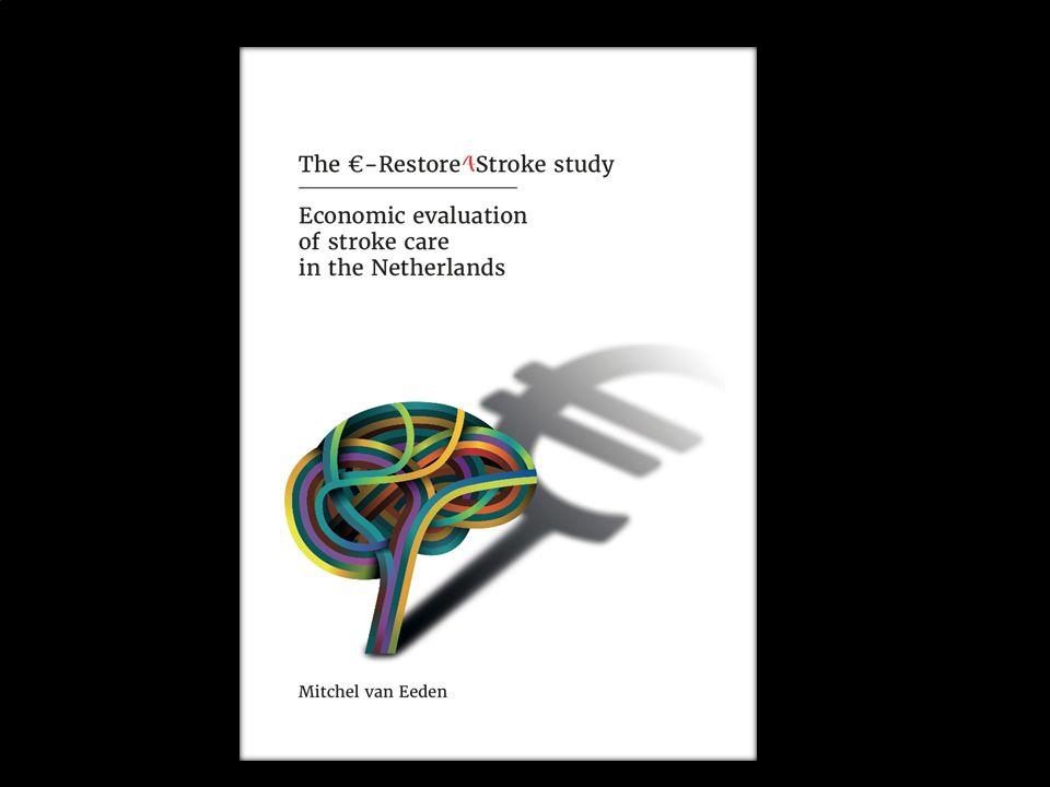 3 Inhoud Waarom doelmatigheid Restore for stroke –Cohort studie –RCT: Cognitieve gedragstherapie vs CAU –RCT: Self-management vs CAU –Record linkage studie impact beroerte op GGZ kosten