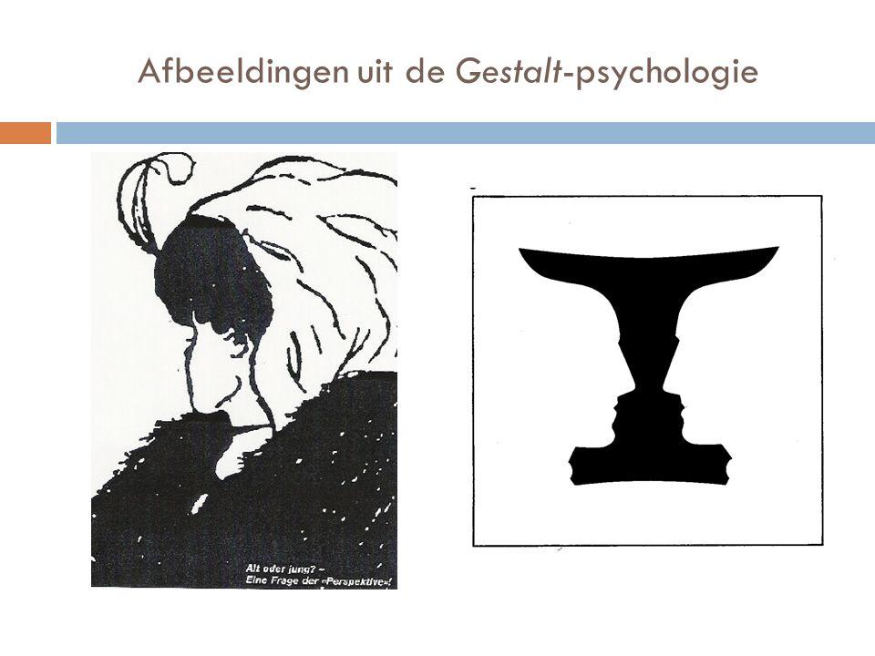 Afbeeldingen uit de Gestalt-psychologie