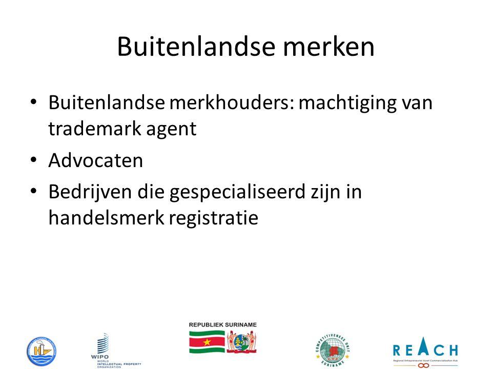 Buitenlandse merken Buitenlandse merkhouders: machtiging van trademark agent Advocaten Bedrijven die gespecialiseerd zijn in handelsmerk registratie