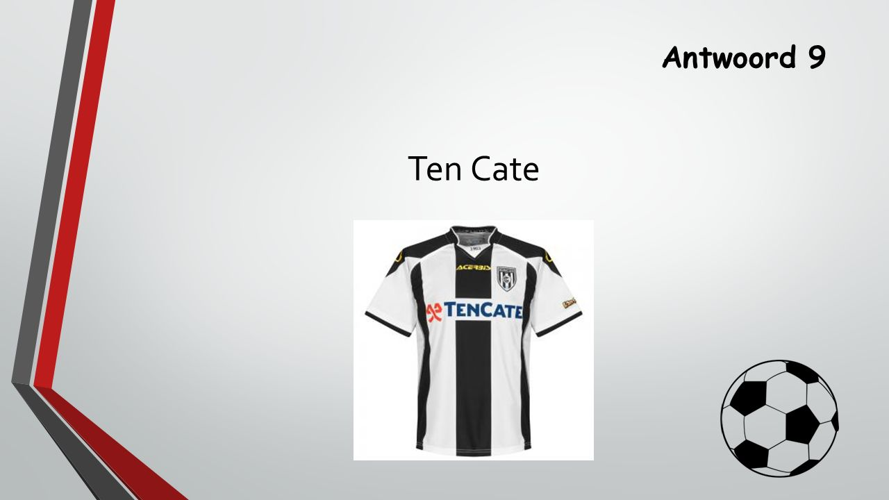 Antwoord 9 Ten Cate
