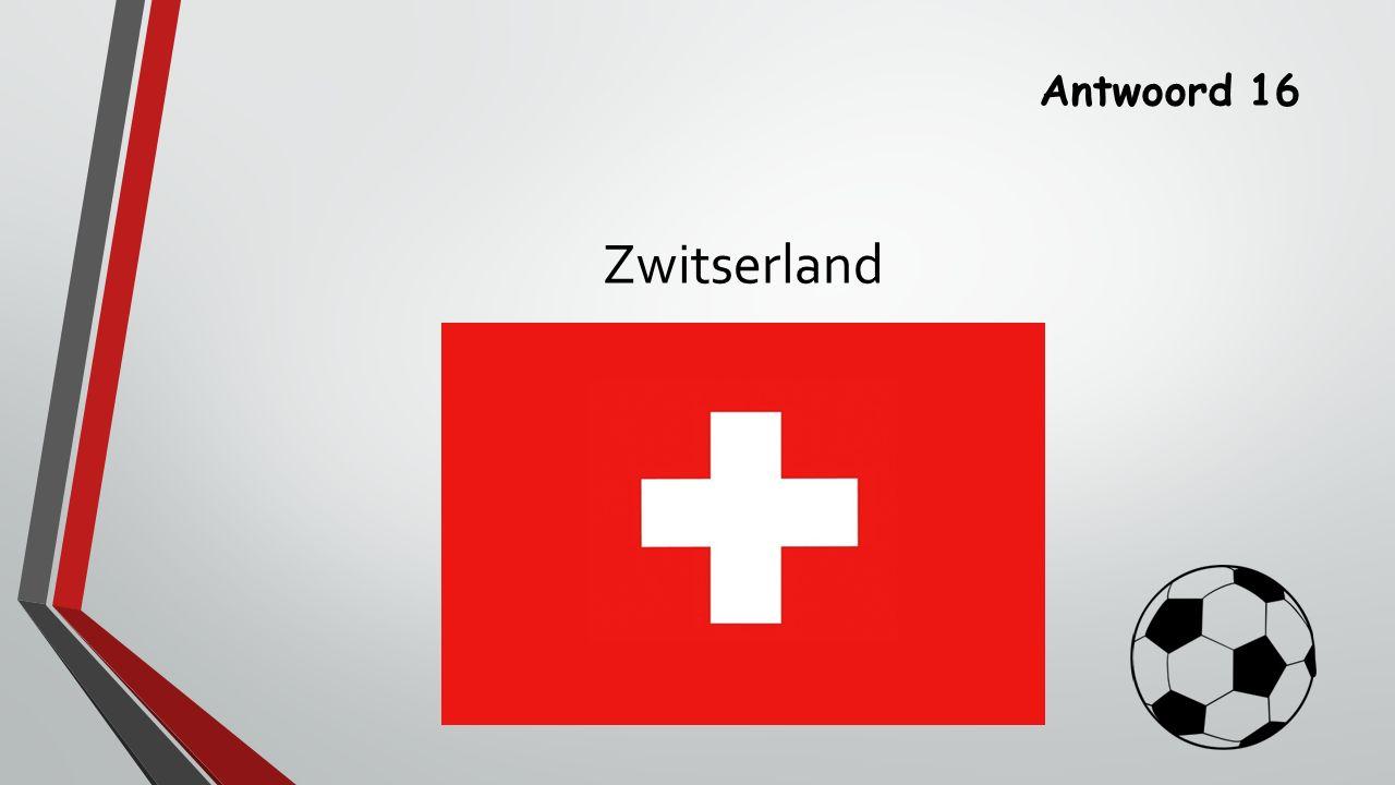 Antwoord 16 Zwitserland