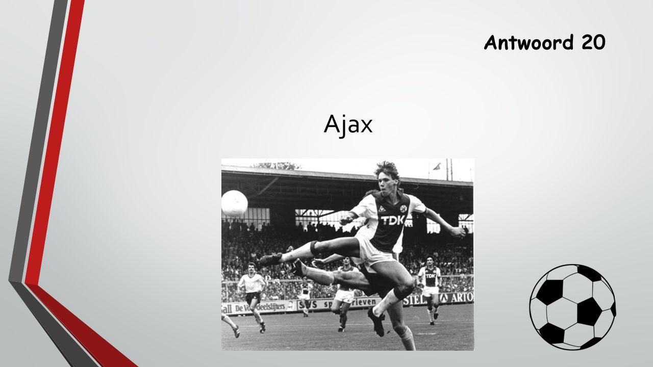 Antwoord 20 Ajax