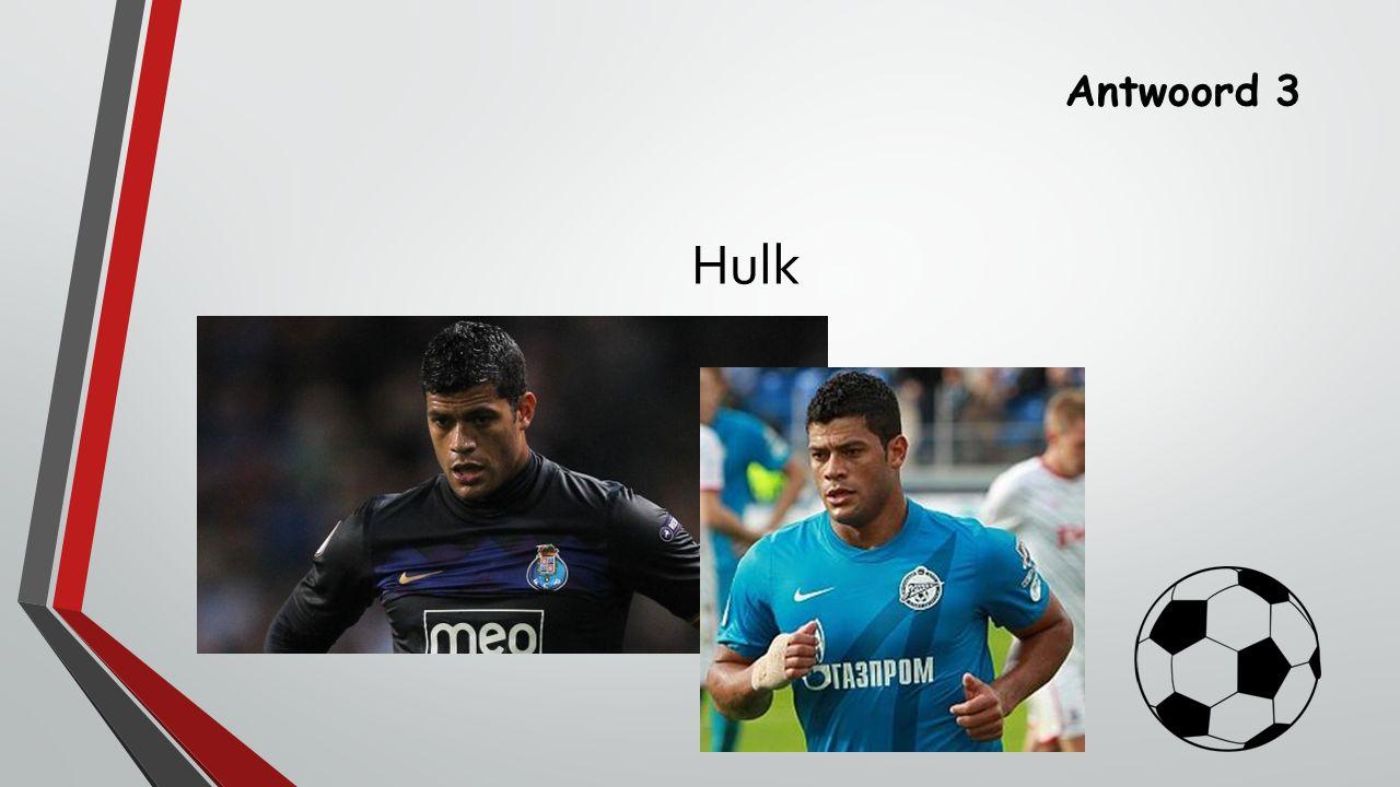 Antwoord 3 Hulk
