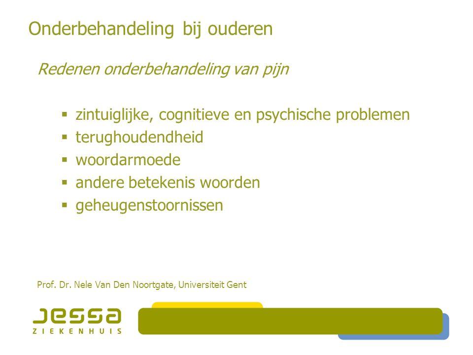 Psychosociale risicofactoren  Persoonlijkheid  Attitude  Overtuigingen pijn  Coping en pijngedrag  Context  Omgeving