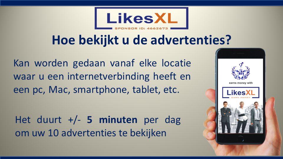Hoe bekijkt u de advertenties? Kan worden gedaan vanaf elke locatie waar u een internetverbinding heeft en een pc, Mac, smartphone, tablet, etc. Het d