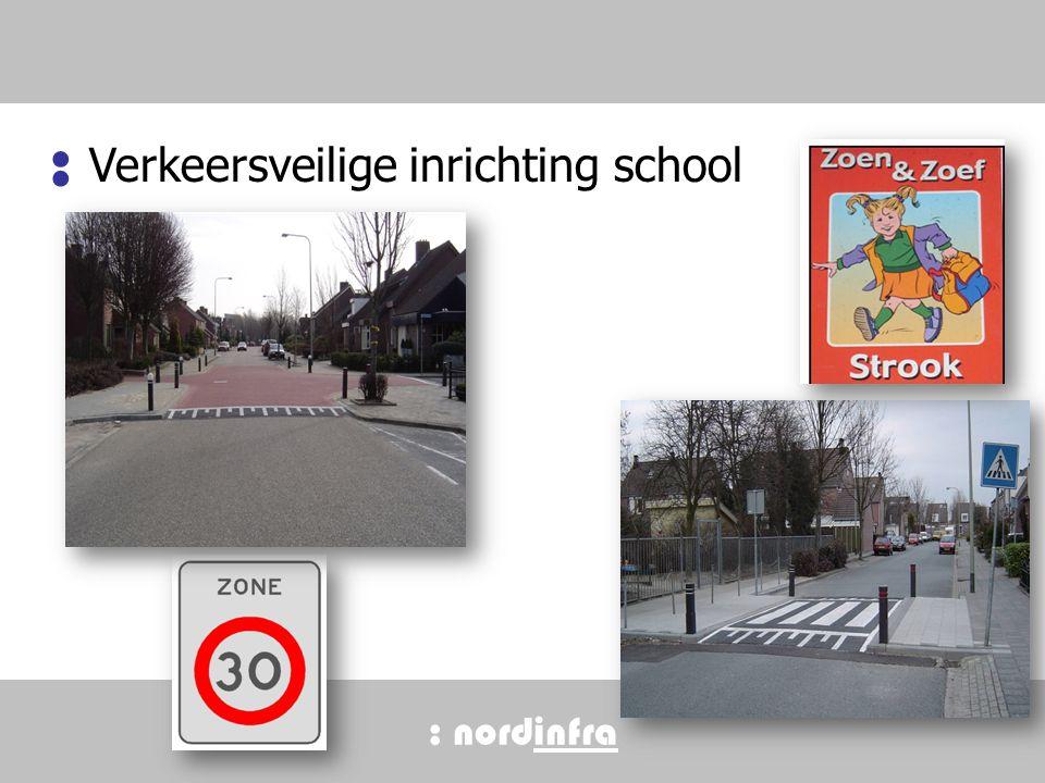 : nordinfra Verkeersveilige inrichting school : 14
