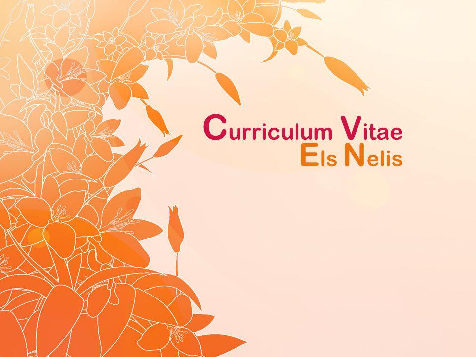 C urriculum V itae E ls N elis