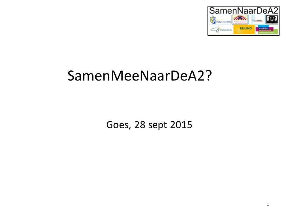 SamenMeeNaarDeA2 Goes, 28 sept 2015 1