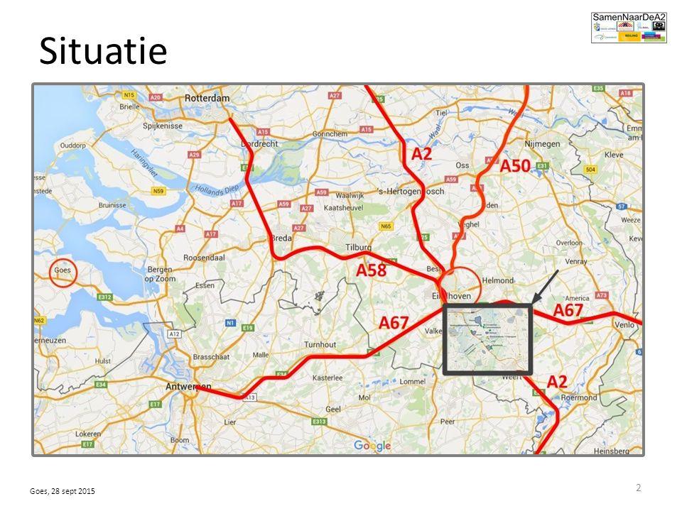 Situatie 2008: voorlopige omleiding Maarheeze vergunning 1200vrachtbewegingen/etmaal overleg gemeenten: ontsluiting naar A2.
