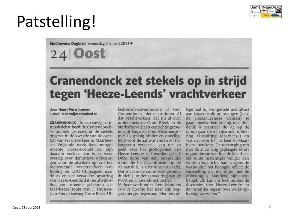 De handen ineen ….samenwerken. 2011 contact DR Maarheeze DR Sterksel: samenwerken.