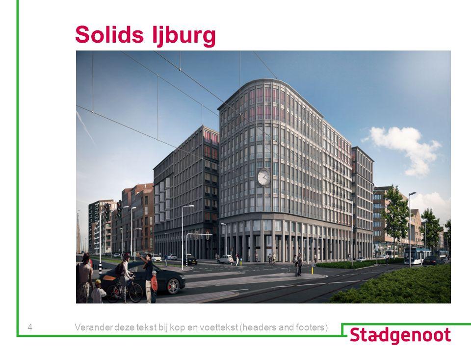 Verander deze tekst bij kop en voettekst (headers and footers) 4 Solids Ijburg