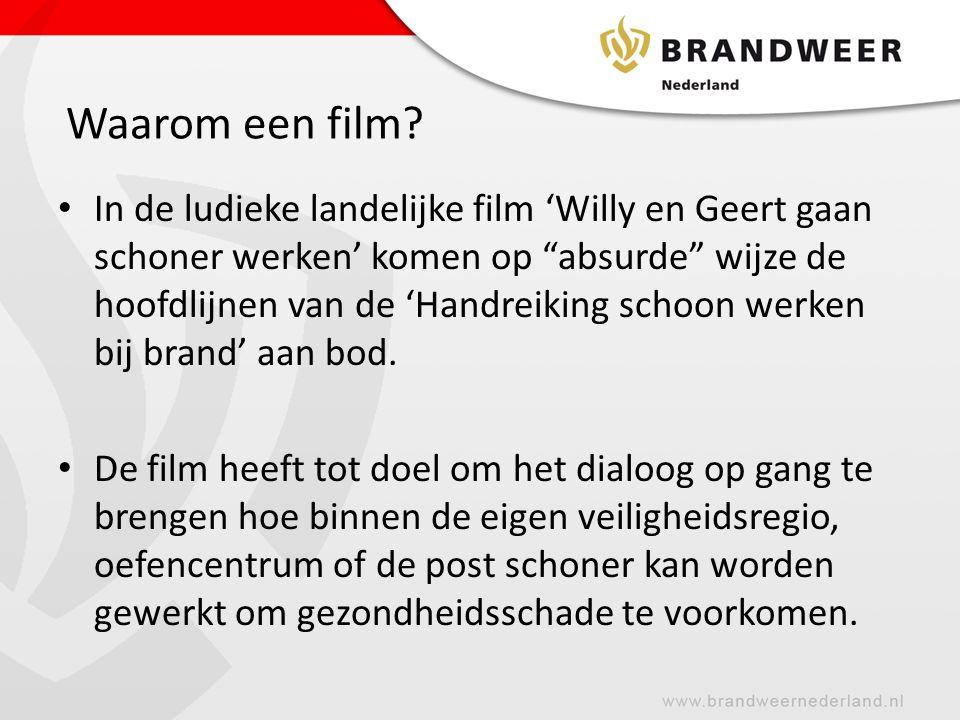 De film is te vinden via onderstaande link: Willy en Geert gaan schoner werken