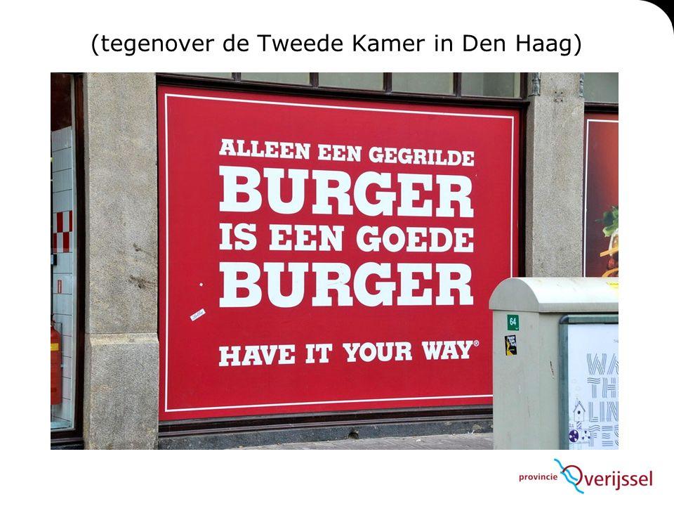 (tegenover de Tweede Kamer in Den Haag)