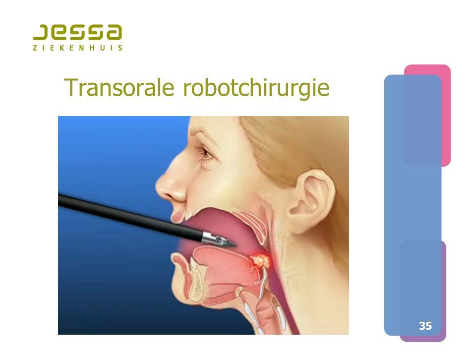 35 Transorale robotchirurgie