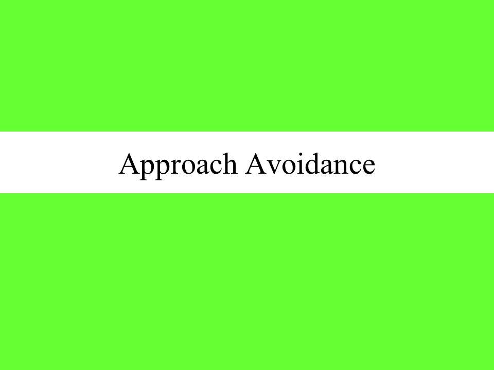 Approach Avoidance