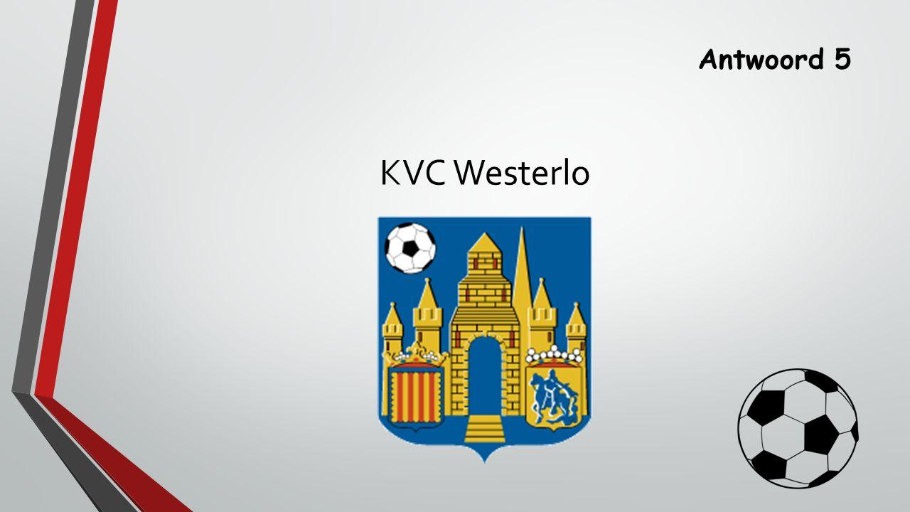 Antwoord 5 KVC Westerlo