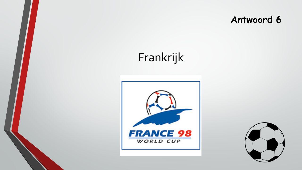 Antwoord 6 Frankrijk