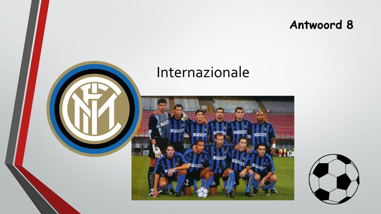 Antwoord 8 Internazionale