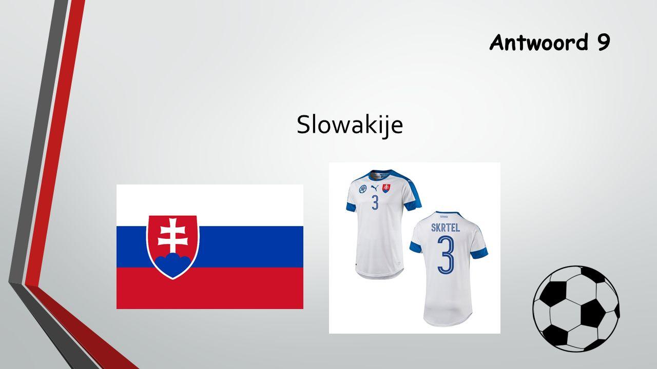 Antwoord 9 Slowakije