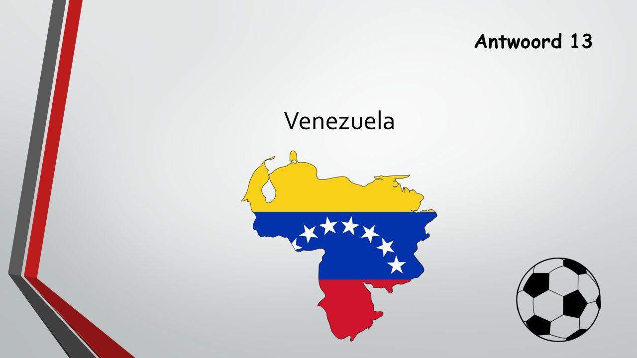 Antwoord 13 Venezuela