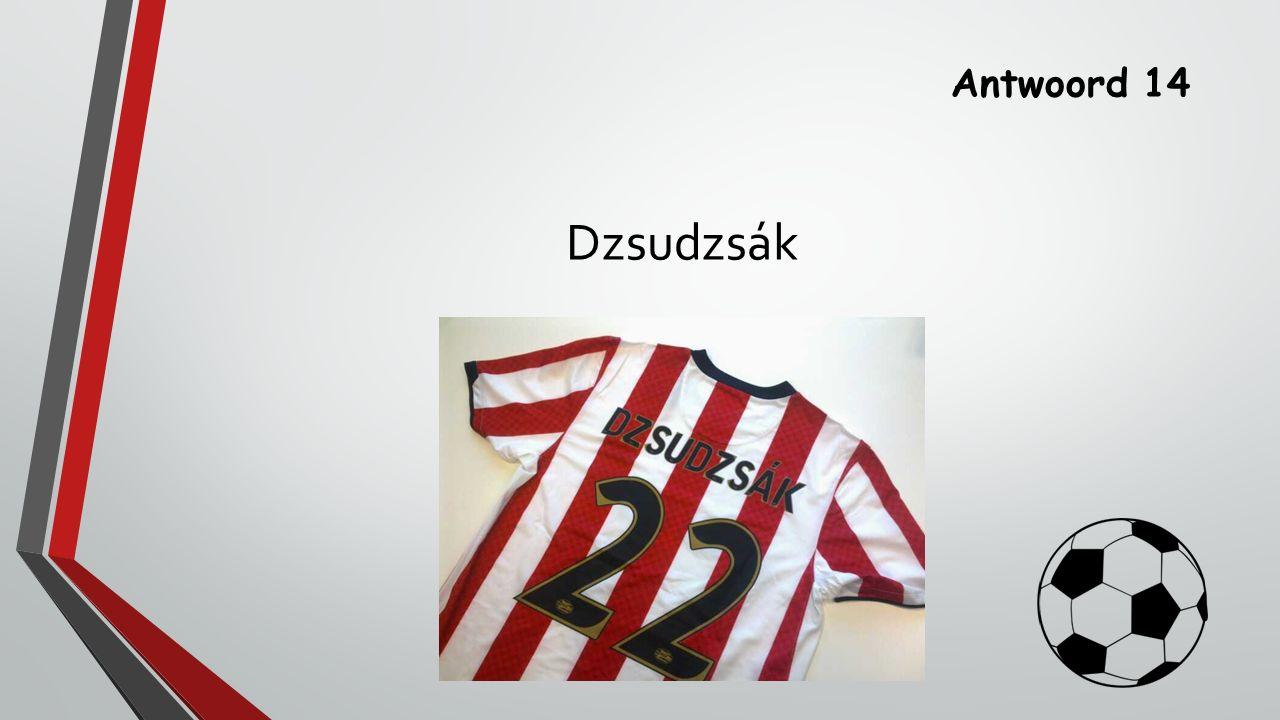 Antwoord 14 Dzsudzsák