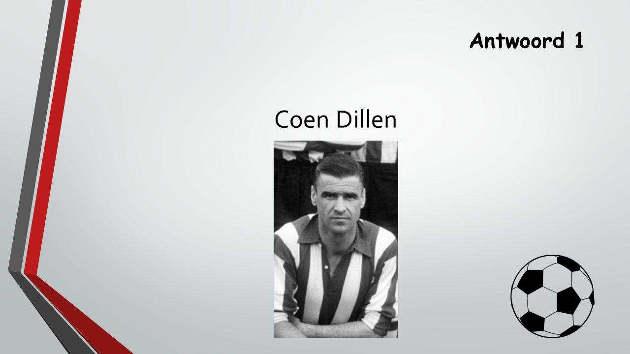Antwoord 1 Coen Dillen