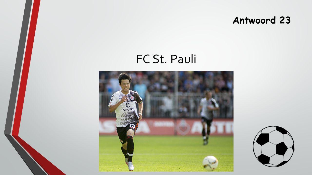 Antwoord 23 FC St. Pauli