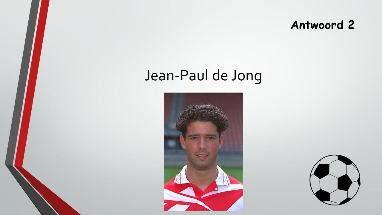 Antwoord 2 Jean-Paul de Jong