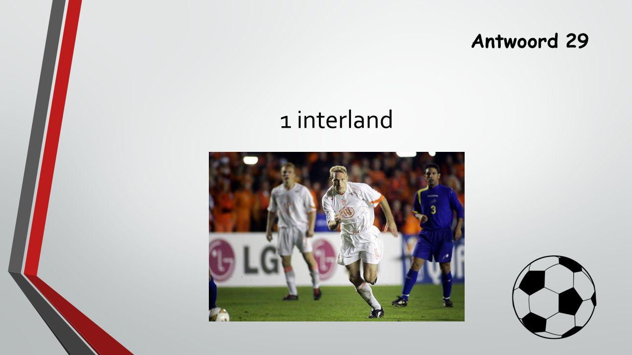 Antwoord 29 1 interland