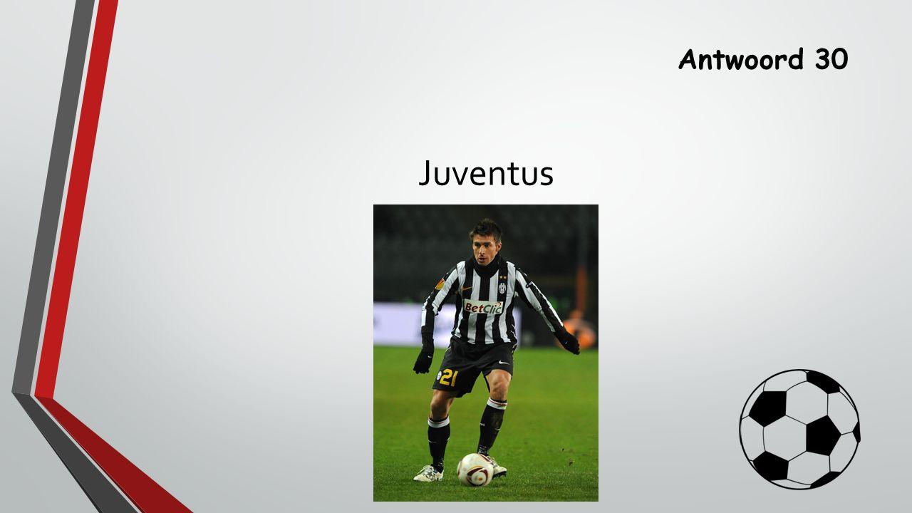 Antwoord 30 Juventus