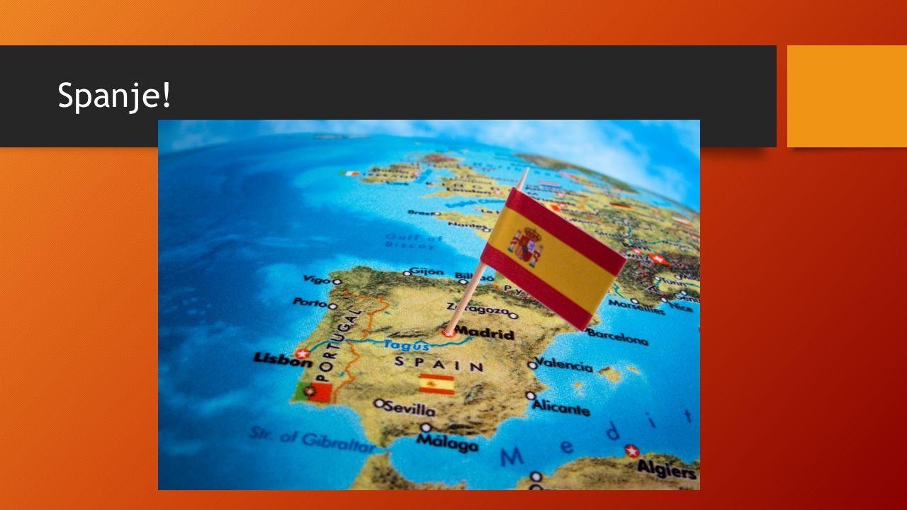 Spanje!