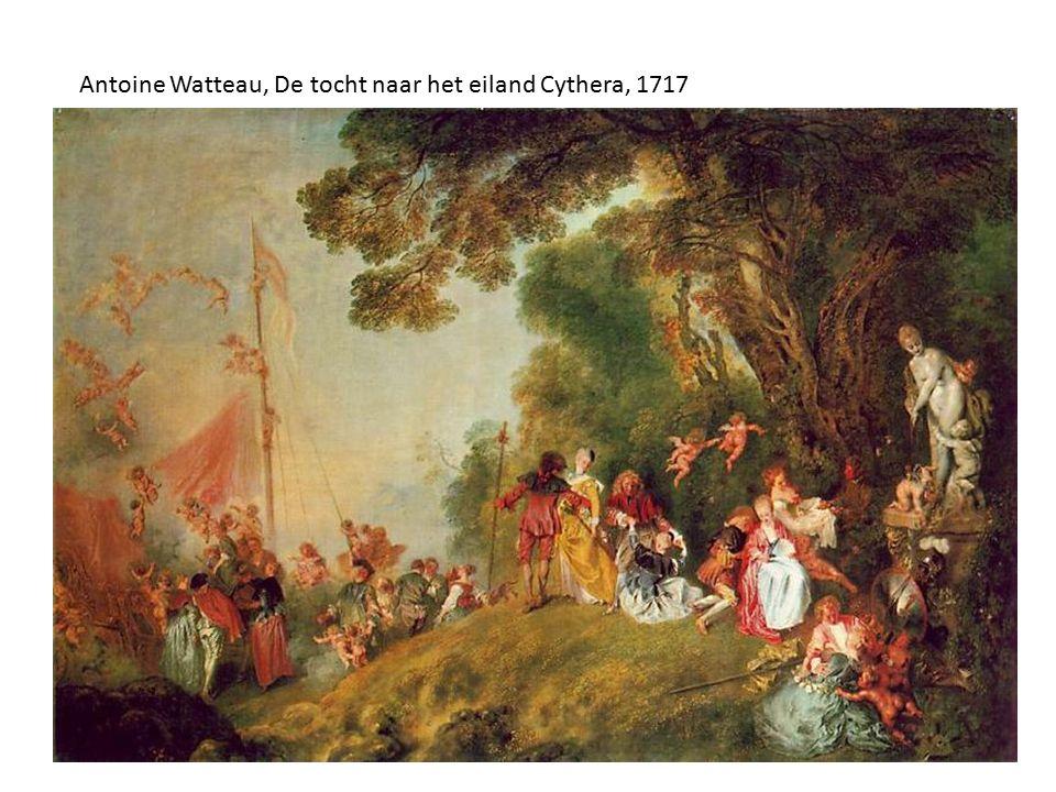 Antoine Watteau, De tocht naar het eiland Cythera, 1717