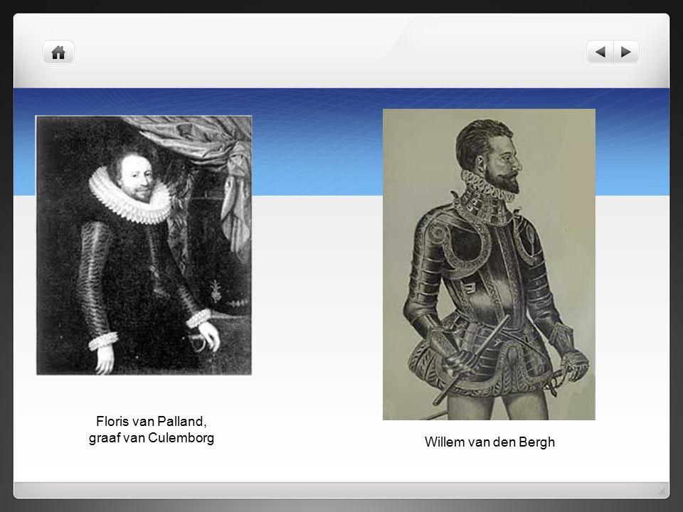 Floris van Palland, graaf van Culemborg Willem van den Bergh