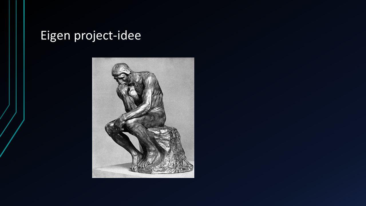 Eigen project-idee