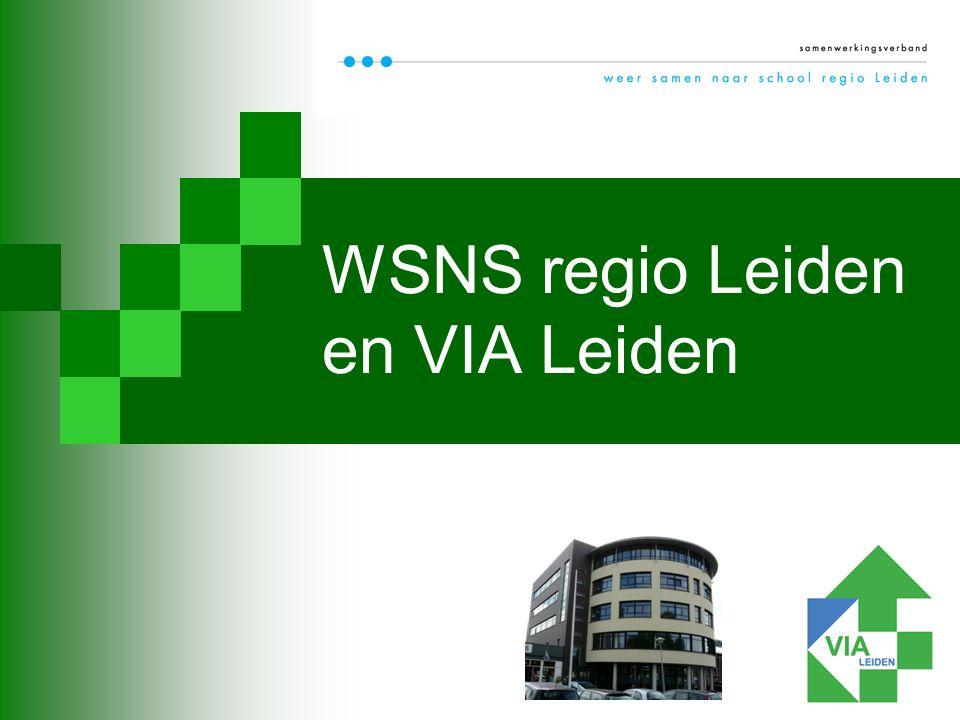 WSNS regio Leiden en VIA Leiden