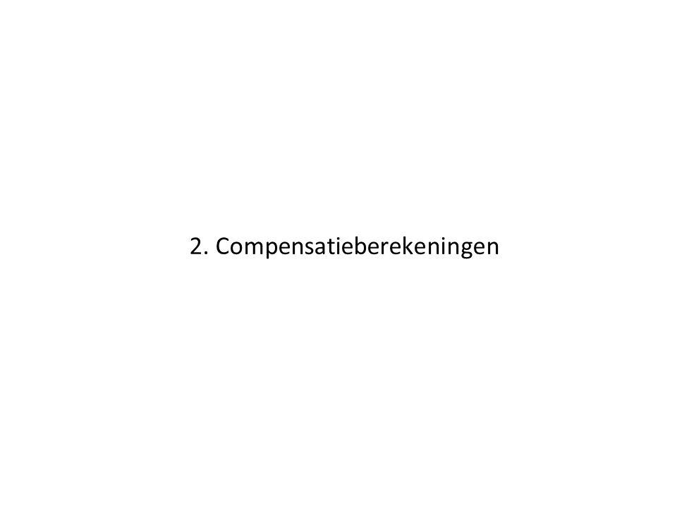 2. Compensatieberekeningen