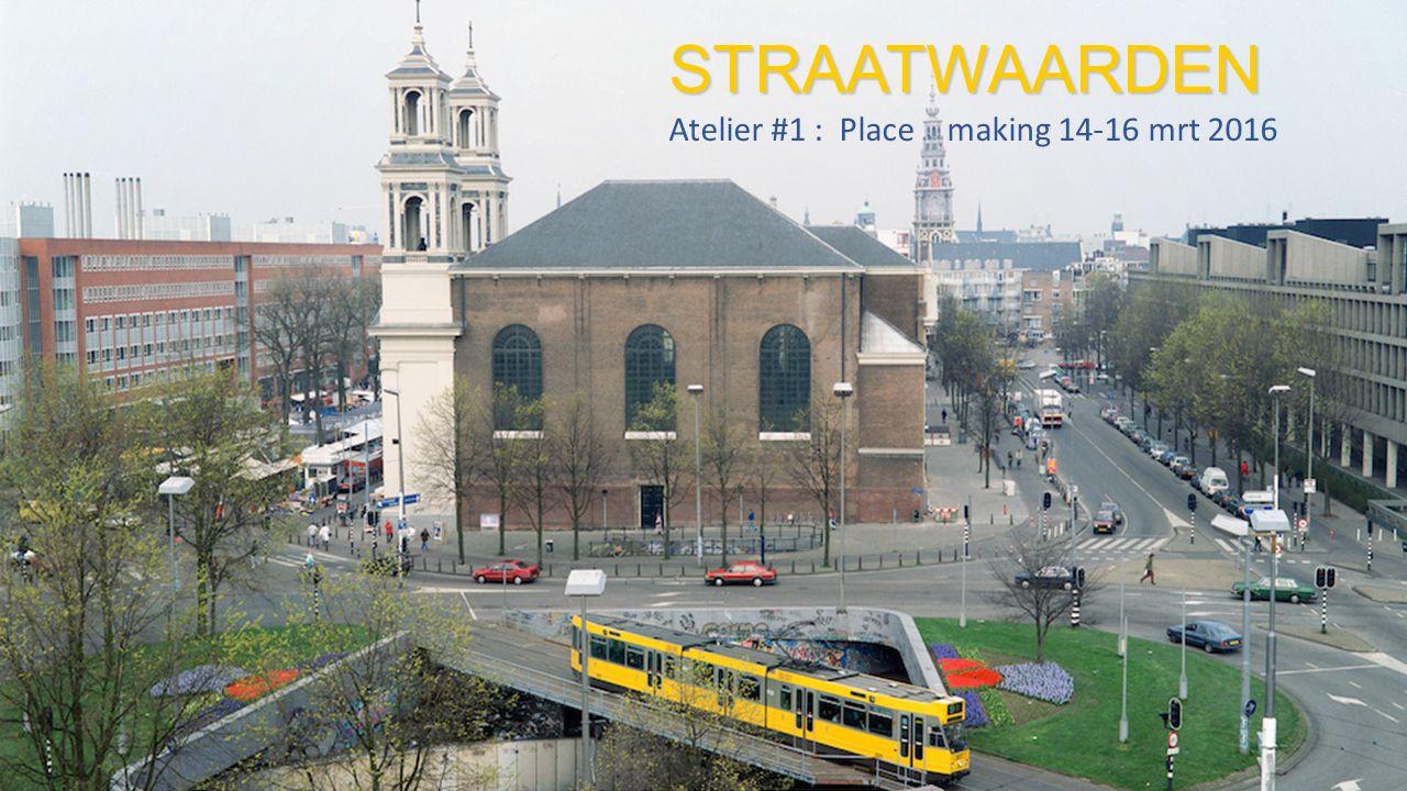 Opgave Straatwaarden Onderzoek naar crossovers tussen erfgoedpraktijken en de vormgeving van onze stedelijke leefomgeving in een nieuwe maatschappelijke dynamiek.