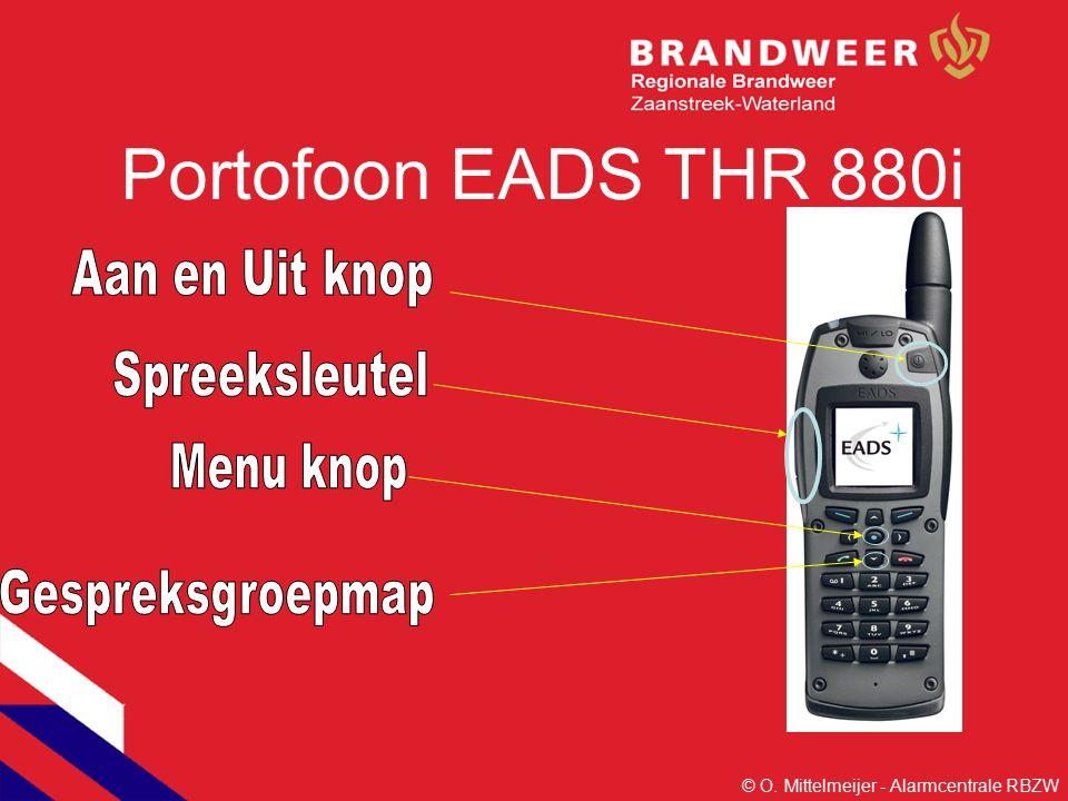 Portofoon EADS THR 880i © O. Mittelmeijer - Alarmcentrale RBZW